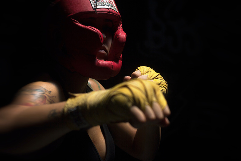 Boxing-headgear